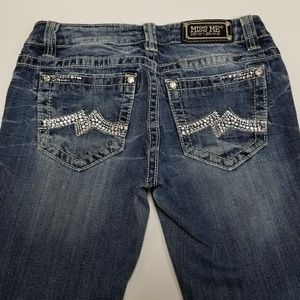 Women's Jeans Miss Me Straight Tag Size 28